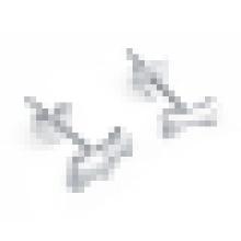 Boucles d'oreilles en argent sterling en forme d'os pour femme