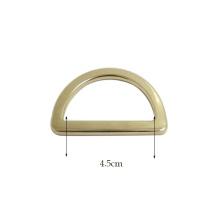 Big Size Bags Buckle Silver Custom Metal D Ring