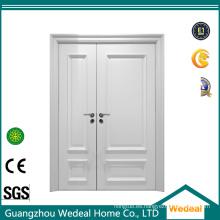 Puerta interior de MDF doble desigual con imprimación blanca