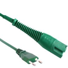 European 2 pin schuko vorwerk kobold VK135 7M 10M 15M vk130 vk140 vk150 vk200 power cord