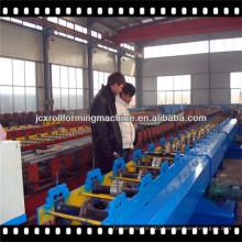 JCX-80-300mm/60-200mm-I1, Mitsubishi PLC Hydraulic Cutting Downspout pipe forming machine