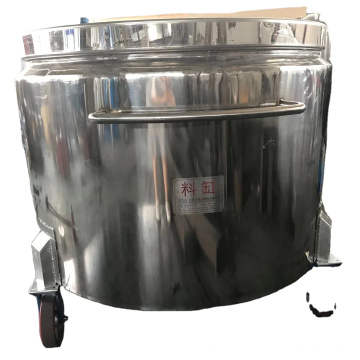 1000L Stainless Steel Tank Price, Double Jacket Tank