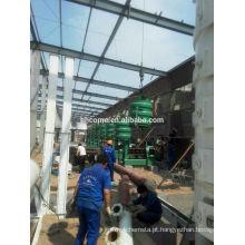 Equipamento 100T / D contínuo e automático do óleo de coco com ISO9001, BV, CE