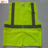 EN20471:2013 High Quality Safety Yellow Warning Vest