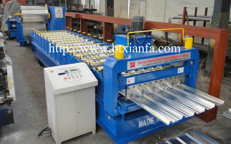 roofing sheets machine