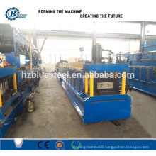Automatic Quick Change C Z Purlin Roll Forming Machine , Fast Change C Z Purlin Lip Channel Rollformer