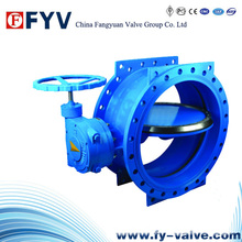 Electric Double Flanged Butterfly Valve
