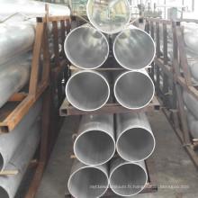 Tube d'alliage d'aluminium pour la balustrade de garde-corps et la fabrication de meubles