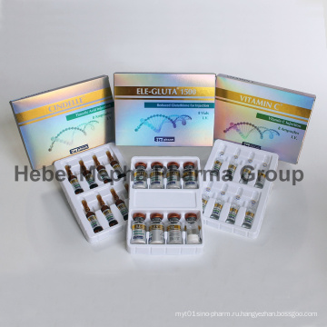 Глутатион инъекции, Vc инъекций, альфа-липоевой кислоты Большой эффект для отбеливания кожи, Anti-Aging