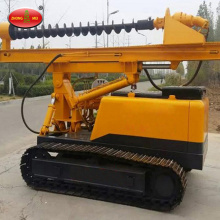 Hydraulic Spiral Screw Pile Driving Machine