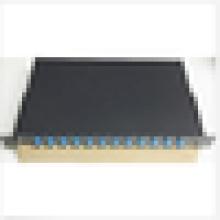 Fiber Optic Patch Panel,Enclosure,12 Port Loaded SC Simplex,Rackmount patch panel