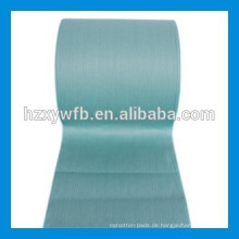 Kreuz-Läpp- / paralleles Viskose-Polyester-Holzstoff-Spunlace-nichtgewebtes Gewebe für Abwischen