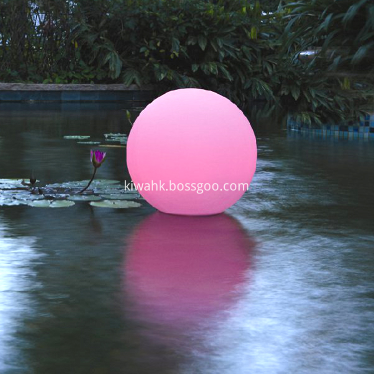 Waterproof 7 Color Chaning Led Ball