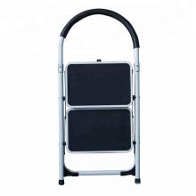 Taburete plegable / Escalera de tijera antideslizante plegable de acero de servicio pesado 5 Anchas antideslizantes Seguridad Taburete de cocina Escalera doméstica