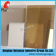 5mm Dark Bronze Tinted Glass/ Tinted Float Glass with ISO