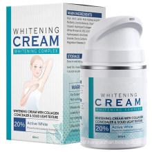 OEM Private Label Facial Lightening Cream Underarm Whitening Cream for Body
