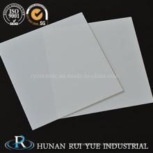 Hoja de cerámica de alúmina 95% -99.7%