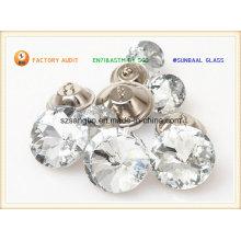 Botón de cristal para prendas y decoraciones