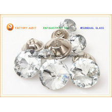 Crystal Glass Button for Garments & Decorations