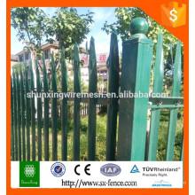 Китай поставки Высокое качество съемный железный забор / кованого железа забор