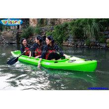2 + 1 Sièges Sit in Kayak de pêche récréative