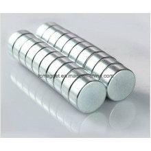 12mm X 5mm N35 Grau de disco pequeno de cilindro redondo Neodymium Ímãs de Terra Rara