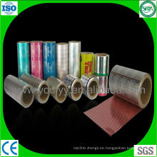 Papel de aluminio coloreado