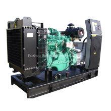 Abra o tipo gerador diesel 100kw trifásico CUMMINS 50Hz
