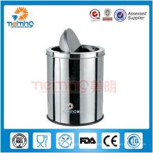 Contenedor de basura de acero inoxidable 13/0, contenedores de residuos