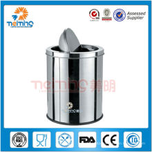 13/0 stainless steel refuse bin, waste containers