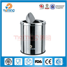 Recipiente de lixo de aço inoxidável 13/0, contentores de resíduos