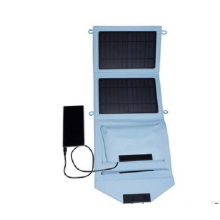 7W Fashionable Manufacturer Foldable Waterproof Solar Charger for Mobile Phone