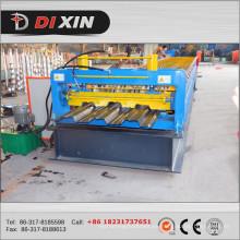 Máquinas formadoras de rollos de hoja de placa de cubierta de piso