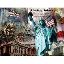 Современная рекламная фотография Абстрактная живопись для украшения стен