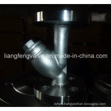 Carbon Steel Flange End Y-Strainer