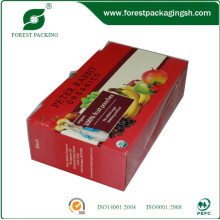 Caixa de papelão ondulado para frutas frescas