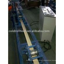 Obturador de rolamento de alumínio da espuma que forma a máquina
