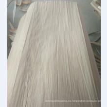 Fábrica de producción en la chapa de madera natural de la chapa 4 * 8 PLB de China