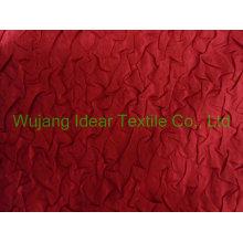 100% tecido de cetim de Ployester Crepe
