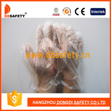 Luvas descartáveis do vinil industrial / médico da classe (DPV600)