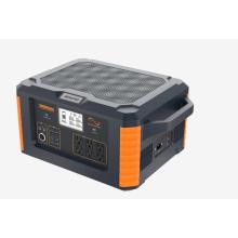 Energy storage portable solar power generator
