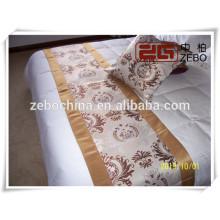 Poliéster Niza mano de obra Bufanda de cama de decoración de precio al por mayor