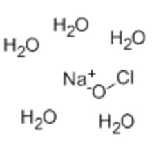 Hypochlorous acid, sodium salt, pentahydrate CAS 10022-70-5