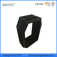 Plastic Accordion Guards CNC Linear Rail covers