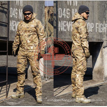 Chief Stripe Camouflage Stalker Dustcoat Suit