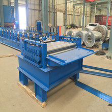Metal plate straightening leveling machine