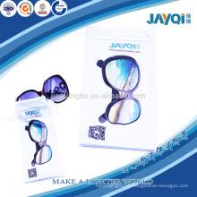 Planta de impresión personalizada nicrofiber gafas de sol bolsa