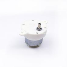 Moteur à engrenages CC à affichage rotatif JS-40 24V 10RPM