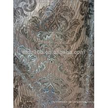 Neue Ankunft 100% Polyester-Blume Jacquard-Vorhanggewebe