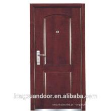 Porta ignífuga de madeira, porta de fogo exterior de madeira, portas de madeira com classificação de fogo